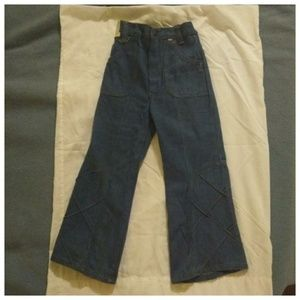 Awesome Vintage 70s NOS Children's Bell Bottoms 5